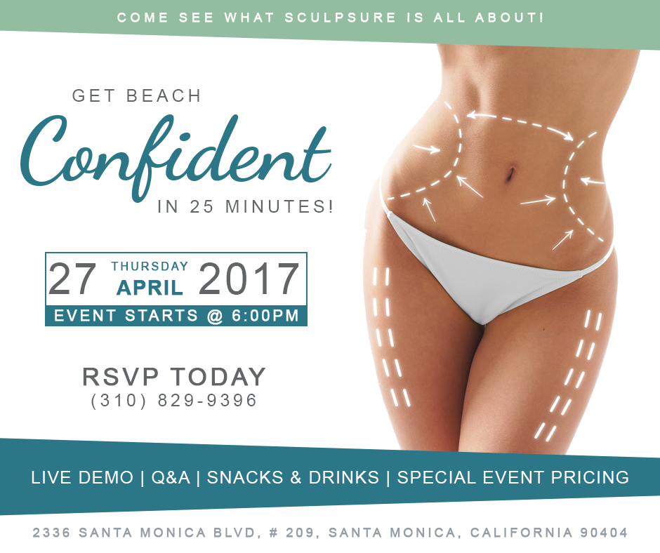 Body Contouring in Santa Monica: Spring into Summer SculpSure Party